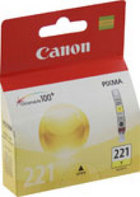 Genuine Canon CLI-221Y Yellow Ink Cartridge (2949B001)
