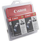 Genuine Canon 4479A271 Black Twin Pack Ink Cartridge (BCI-3eBk)