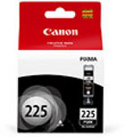 Genuine Canon PGI-225 Black Ink Cartridge (4530B001)
