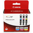 Genuine Canon 4547B005  (3 Color Combo Ink Pack) (CLI-226)