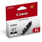 Canon 6448B001 Black Genuine Ink Cartridge (CLI-251XL)