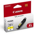 Canon 6451B001 Yellow Genuine Ink Cartridge (CLI-251XL)