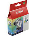 Genuine Canon 8191A003 Tri-Color Twin Pack Ink Cartridge (BCI-15CLR)