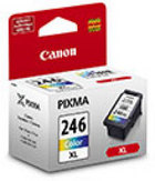 Genuine Canon CL-246XL High Yield Tri-Color Ink Cartridge (8280B001)
