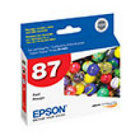 Genuine Epson T087720 Red Ink Cartridge