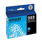Genuine Epson T252220 Cyan Ink Cartridge