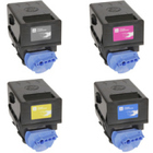 Canon GPR-23 - Remanufactured 4 Color Toner Catridge Set (Black, Cyan, Magenta, Yellow)