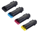 DELL H625, H825, S2825 New Generic Brand 4 Color Set (K,C,M,Y) Toner Cartridge