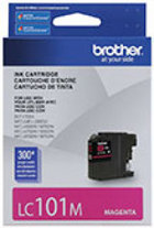 Genuine Brother LC101 Magenta Ink Cartridge