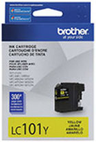Genuine Brother LC101 Yellow Ink Cartridge