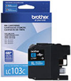 Genuine Brother LC103 Cyan High Yield Ink Cartridge