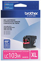 Genuine Brother LC103 Magenta High Yield Ink Cartridge