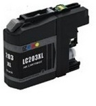Brother LC203 Black Remanufactured Ink Cartridge