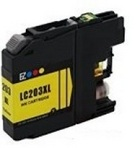 Brother LC203 Yellow Remanufactured Ink Cartridge