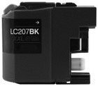 Brother LC207BK Extra High Yield Black Remanufactured Ink Cartridge