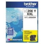 Genuine Brother LC20EY Yellow Ink Cartridge