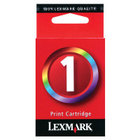 Lexmark #1 Tri-Color Genuine Ink Cartridge (18C0781)