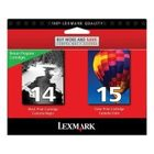Genuine Lexmark 18C2239 Combo Ink Set