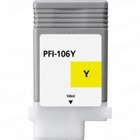 Canon PFI-106Y Yellow Remanufactured Ink Cartridge