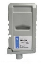 Canon PFI-704C Cyan Remanufactured Ink Cartridge