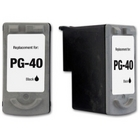 Canon PG-40 Black Remanufactured Ink Cartridge (PG40)