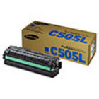 Genuine Samsung CLT-C505L Cyan Toner Cartridge