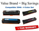 HP 304A Economy Color Toner Set (CC530A,31A,32A,33A)