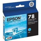 New Original Epson T078220 Cyan Ink Cartridge