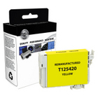 EPSON T125 Yellow Remanufactured Ink Cartridge (T125420)