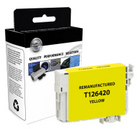 EPSON T126 Yellow High Yield Remanufactured Ink Cartridge (T126420)