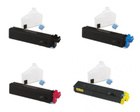 Kyocera TK502 Compatible - 4 Color Toner Cartridge Set