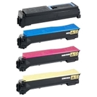 Kyocera TK552 Compatible - 4 Color Toner Cartridge Set