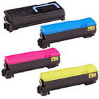 Kyocera TK572 Compatible - 4 Color Toner Cartridge Set