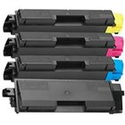 Kyocera TK582 Compatible - 4 Color Toner Cartridge Set