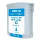 HP 12 Cyan Remanufactured Ink Cartridge (C4804A) (#12)
