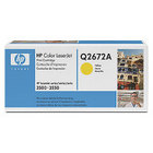 New Original HP 309A Yellow Toner Cartridge (Q2672A)