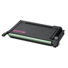 Remanufactured Magenta toner for use in CLP600/600N/650 Samsung Model